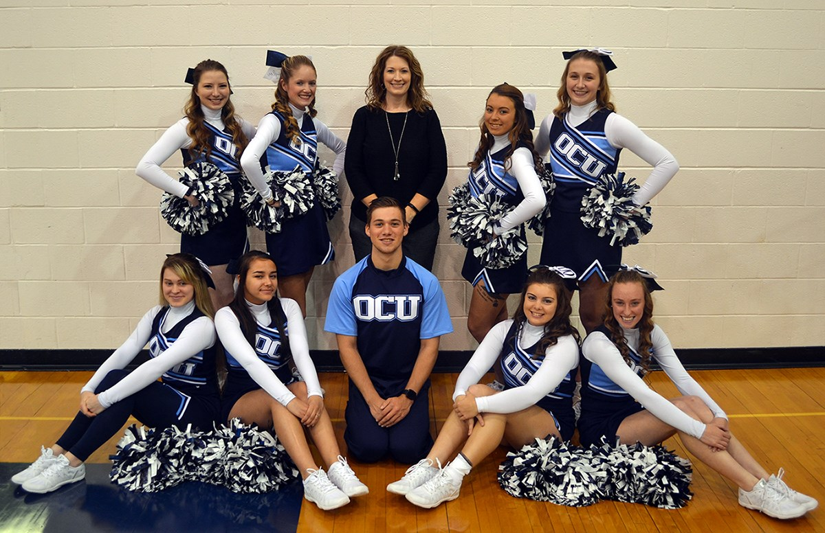Cheerleading - Oakland City University Athletics on science map, baseball map, hip hop map, hiking map, curling map, cross country map, basketball map, diving map, triathlon map,
